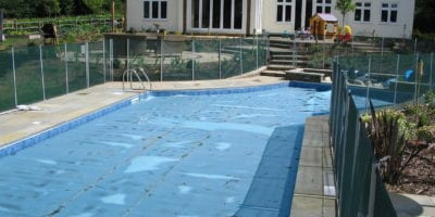 Swimming Pool with Fencing in Surrey