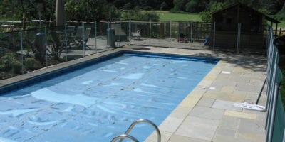Swimming Pool with Fencing