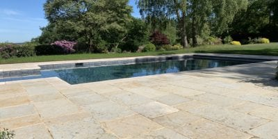 Outdoor Swimming Pool With Tiles